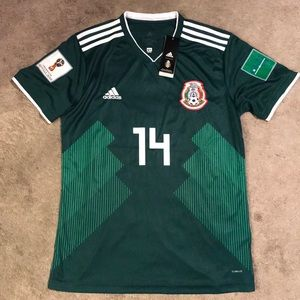 Chicharito 2018 Mexico World Cup Jersey NWT Large